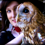 Me with an OWL. An OWL!!